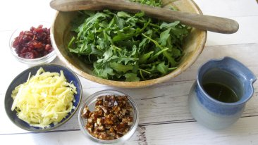 KitchenWise: Praline is standout in recipe for arugula salad
