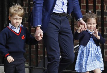 Watch out for the kids: George, Charlotte in royal wedding