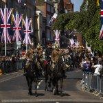 The Latest: Prince Harry, Meghan Markle arrive in Windsor
