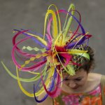 Fascinating! Fancy hats take stage at horse show