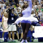 Serena Williams wins in tutus at US Open