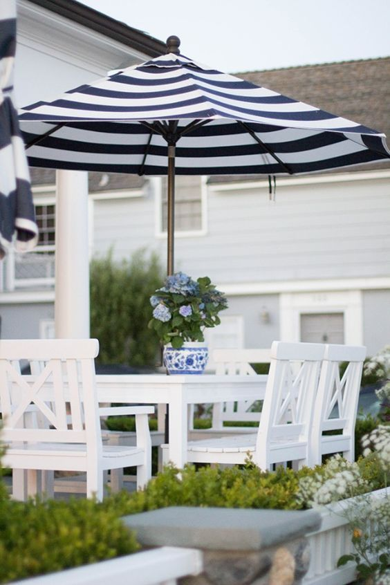 Outdoor Umbrellas Chic Patio Inspiration The Well