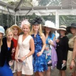 "British Inspiration at this year's Central Park Conservancy's ""Hat Party"" Luncheon: Fascinators Abound!"
