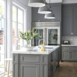 Home Decor Trend: Gray in the Kitchen and Bathroom