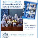 House Beautiful's November 2013 Blue and White Kitchen: Get the Look!