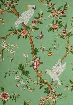 Kanchou-Green-Brunschwig-Fils-Kid-Wallpaper-Children