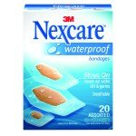 Sponsored Post: 3M Nexcare Waterproof Bandages