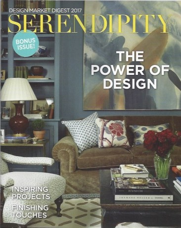 See Our Pillow in Serendipity Magazine!  Plus, Pillows We Love!