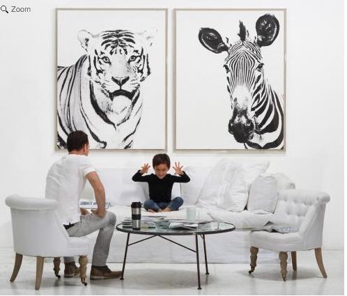 Tylinek Tiger Wall Art