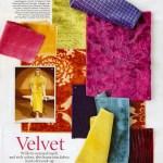 Elle Decor Trend Alert: Velvet!