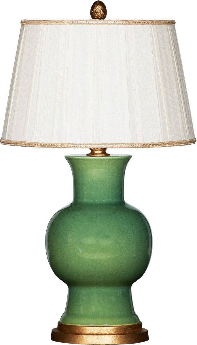 Verde Green Ceramic Lamp