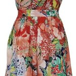 Kate Middleton Dress Giveaway! Poppy Strapless Bought on High Street