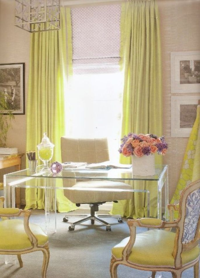 bright-yellow-home-office-lucite-desk-decor-well-appointed-house