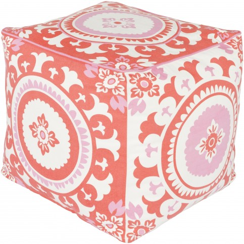 carnation-ivory-and-poppy-cotton-pouf-1