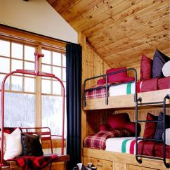 Decorate Small Living Room With Fireplace Rooms To Go Furniture Chic Decor For The Ski Chalet | Well Appointed House ...