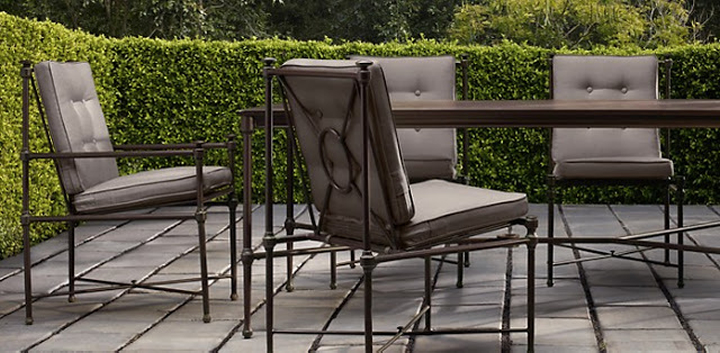 Vintage As someone very familiar with patio furniture lines I ordered through the Restoration Hardware trade program assuming the quality would be good