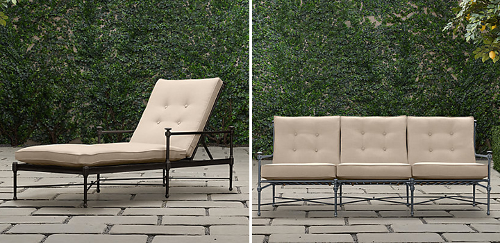 As Someone Very Familiar With Patio Furniture Lines, I Ordered Through The Restoration  Hardware Trade Program, Assuming The Quality Would Be Good.