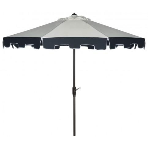 Safavieh City Fashion 9 Feet Umbrella In Beige