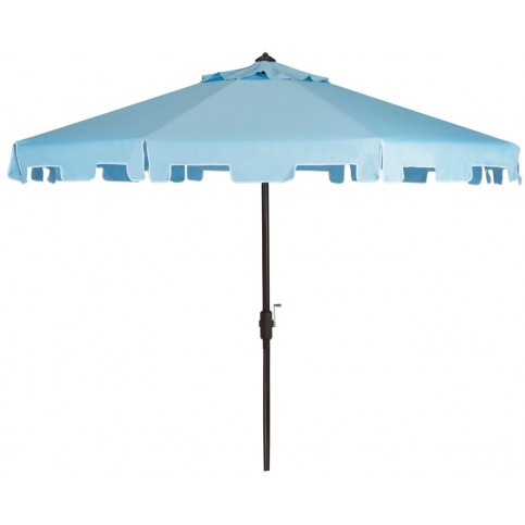 Safavieh Zimmerman 9 Feet Crank Market Umbrella With