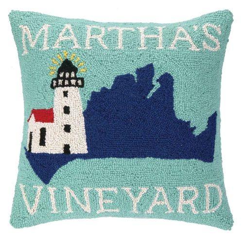 Take Me To Martha_s Vineyard Pillow