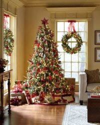 Christmas Wreaths on Windows: Outdoors and Indoors! | The ...