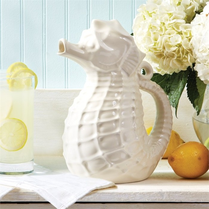white_ceramic_seahorse_pitcher