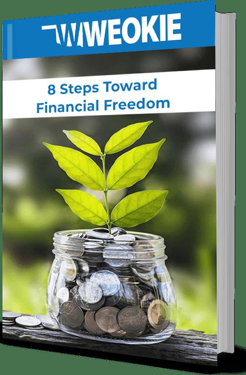 8 Steps Toward Financial Freedom Worksheet Bundle
