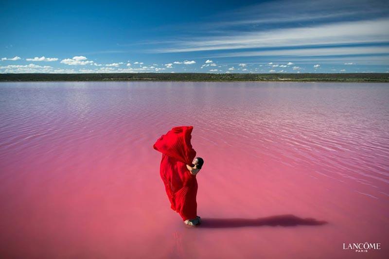 Il Lago Rosa In AustraliaSi Esiste Davvero  WePlaya