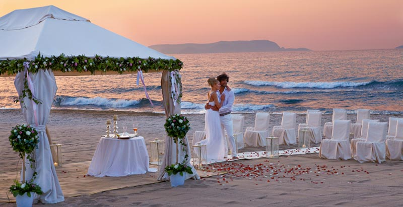 I 12 posti pi belli del mondo per un matrimonio in riva