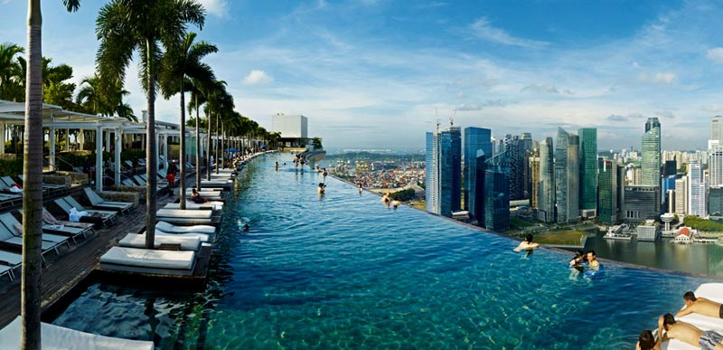 200 Metri Di Altezza E Una Vista Mozzafiato Su Singapore