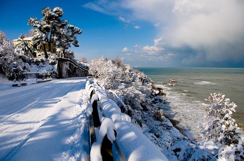 Paesaggi Invernali Mare