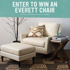 West Elm Everett Chair Rocking Chairs For Nursery Australia Enter To Win An Front Main