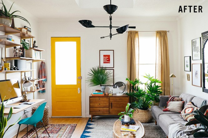 Dabito S 100 Sq Ft Living Room Is Fantastic Small E Design