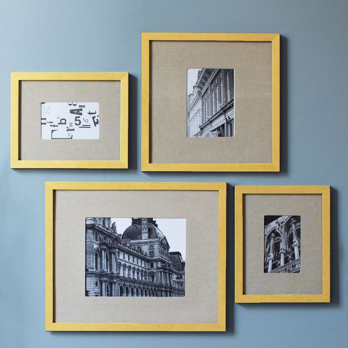 gallery picture frames gold