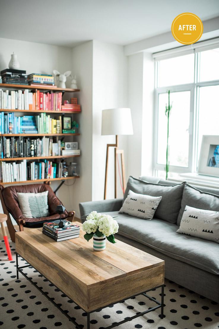 Van Broussards Quick Living Room Makeover  Front  Main