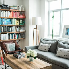 West Elm Living Rooms Great Colors For Room Walls Vane Broussard S Quick Makeover Front Main Brooklyn Bride Before After