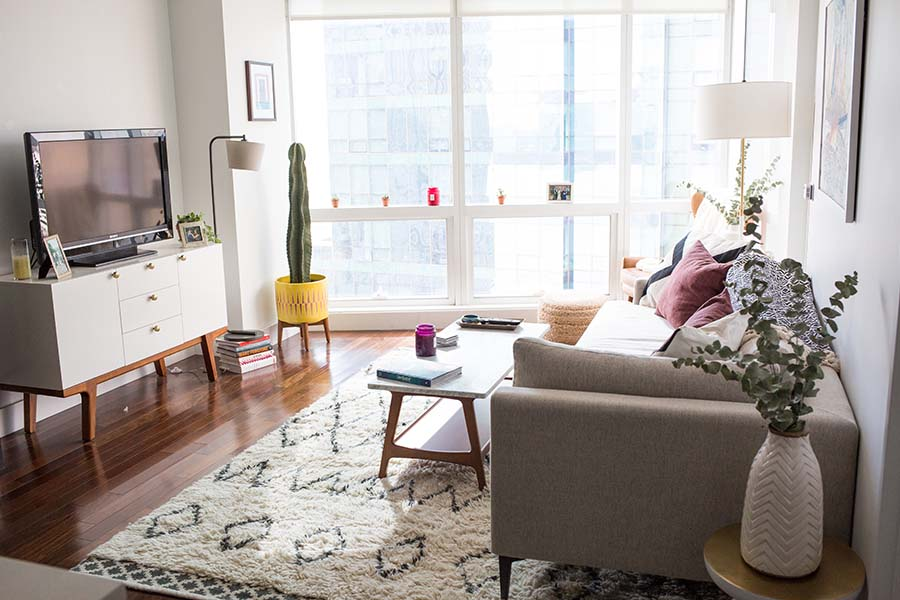 Ali Maffuccis TravelInspired Apartment Makeover  Front