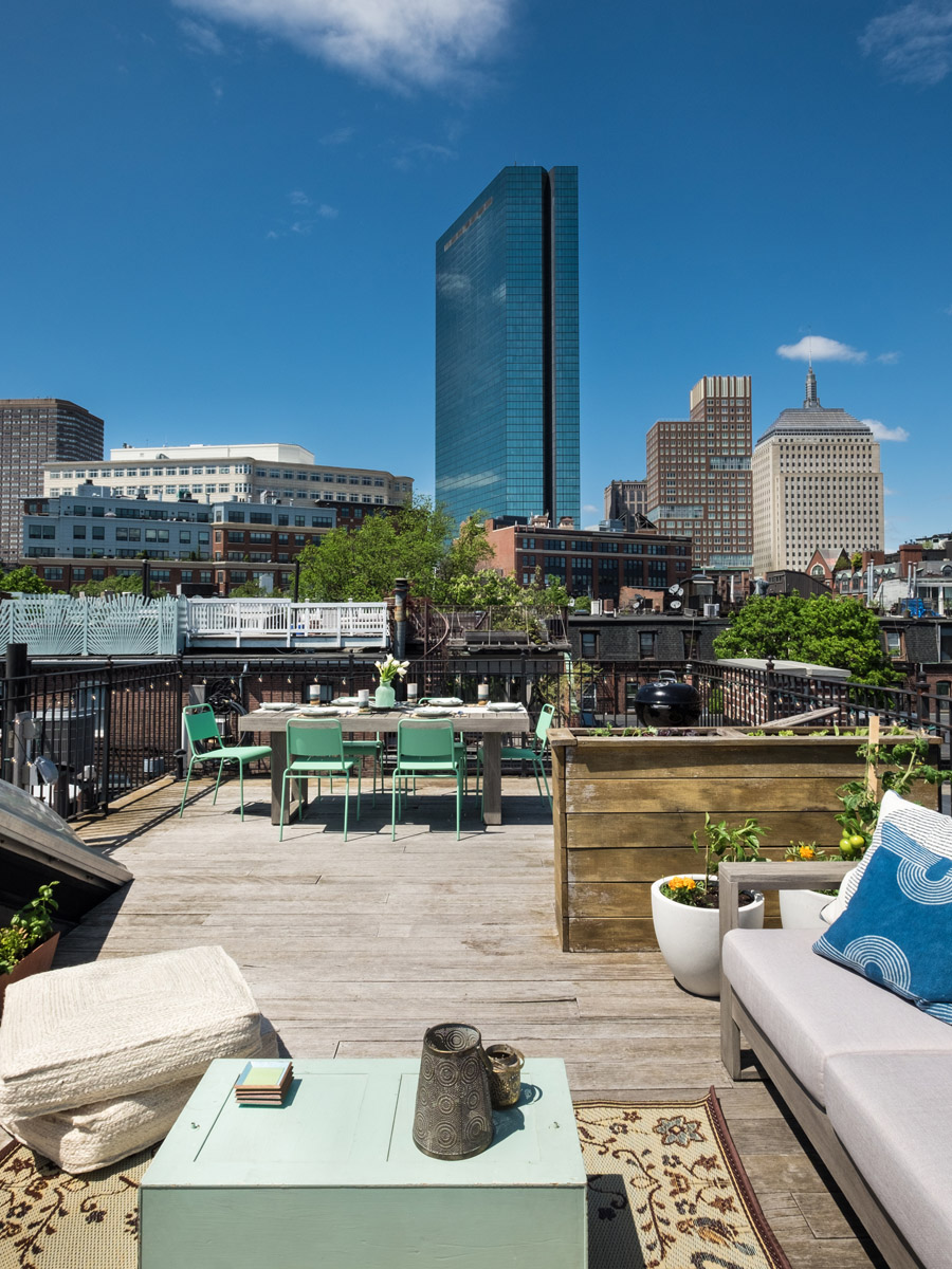 Taking Advantage of Outdoor Space in Boston  Front  Main