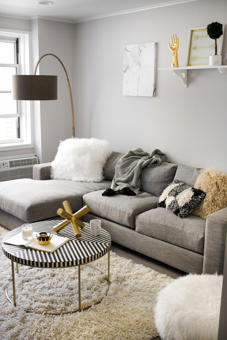 west elm living rooms simple room curtains a modern monochrome front main steffy kuncman s