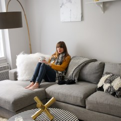 West Elm Living Rooms Room Bay Window Curtain Ideas A Modern Monochrome Front Main Steffy Kuncman S