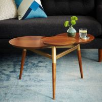 5 Ways To Use west elm's Clover Coffee Table - Front + Main