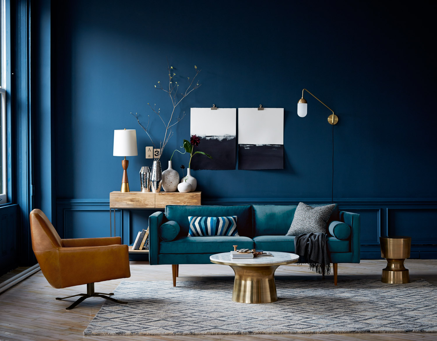 How To Make Blue Walls Work