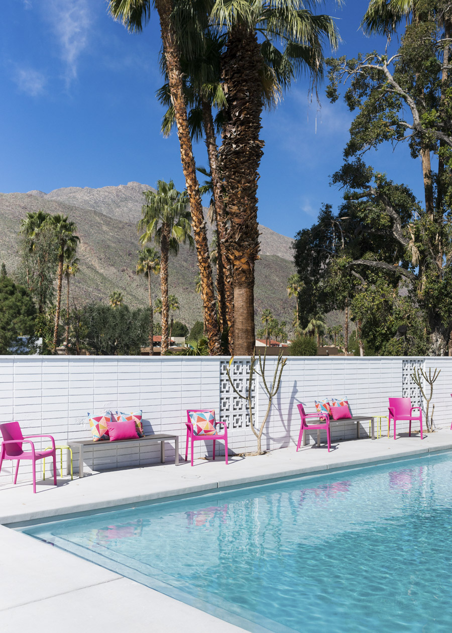 Color Pops In Palm Springs Front Main