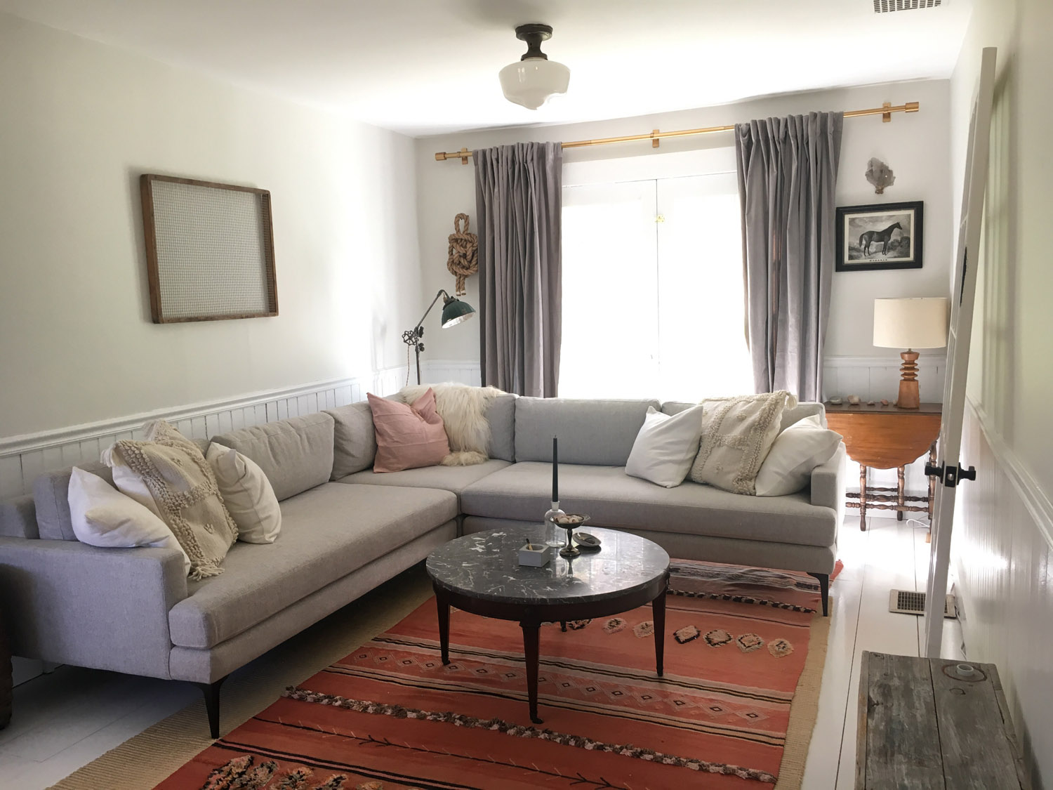 west elm living rooms home ceiling designs room on making your new livable and other dispatches from upstate ny renovation