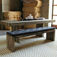 Bench For Kitchen Table And Chair Set Tufted Dining Cushion West Elm