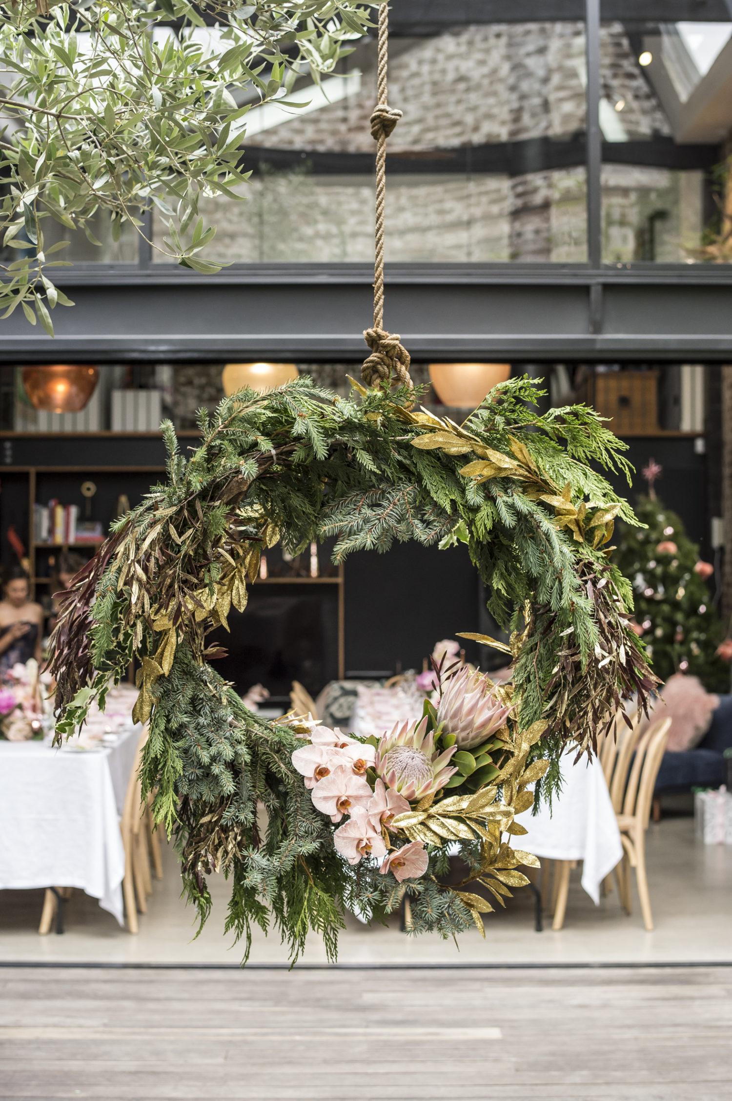 swivel chair west elm pedicure liners an australian christmas soiree - front + main