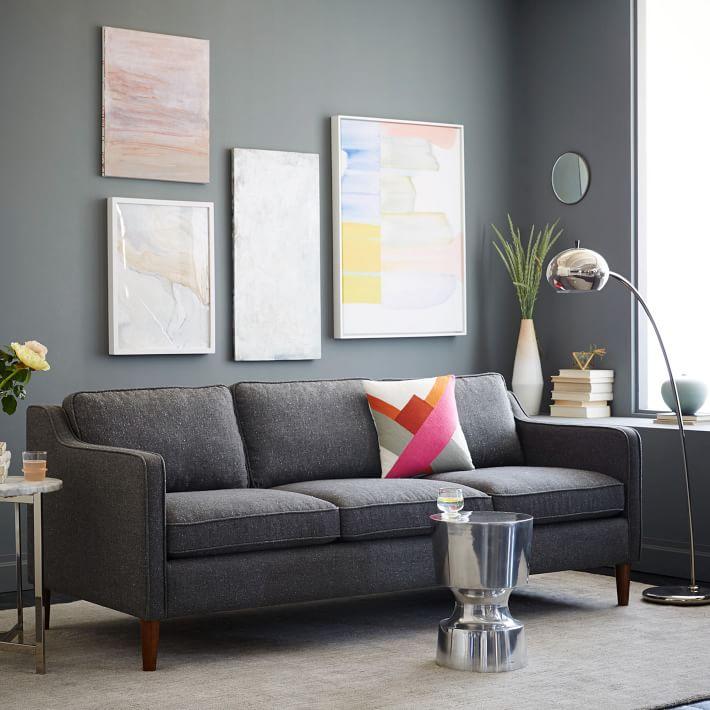 moss studio sofa reviews furniture village corner beds hamilton 81 west elm