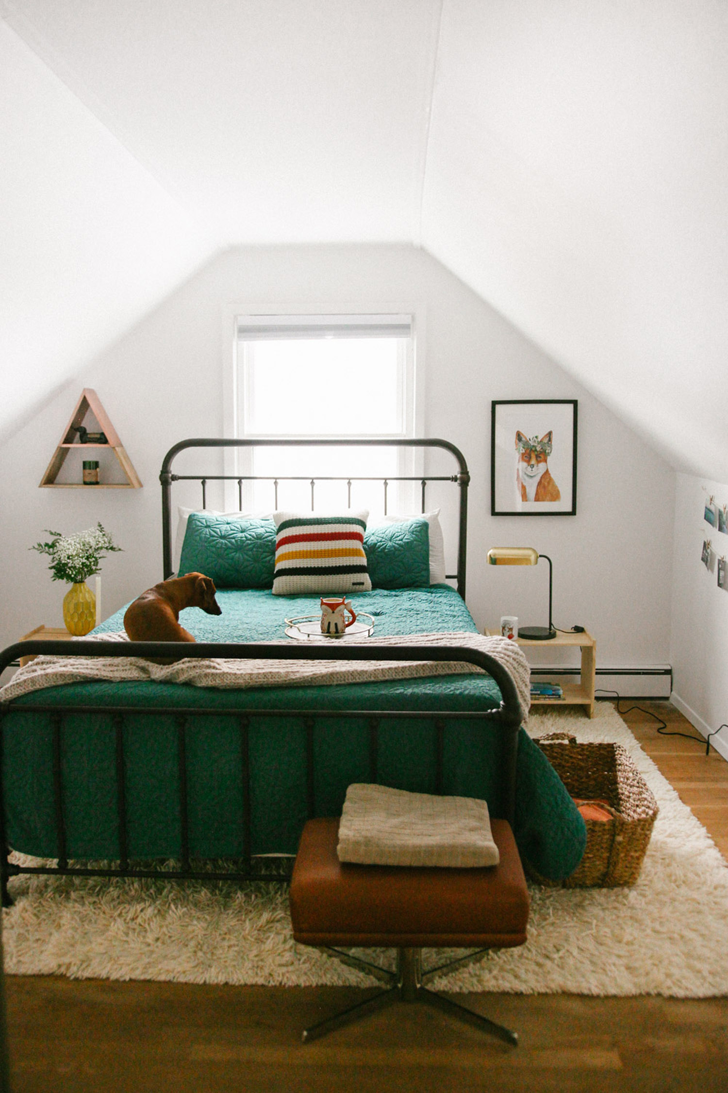 Transforming an Attic Into A Cozy Guest Room  Front  Main