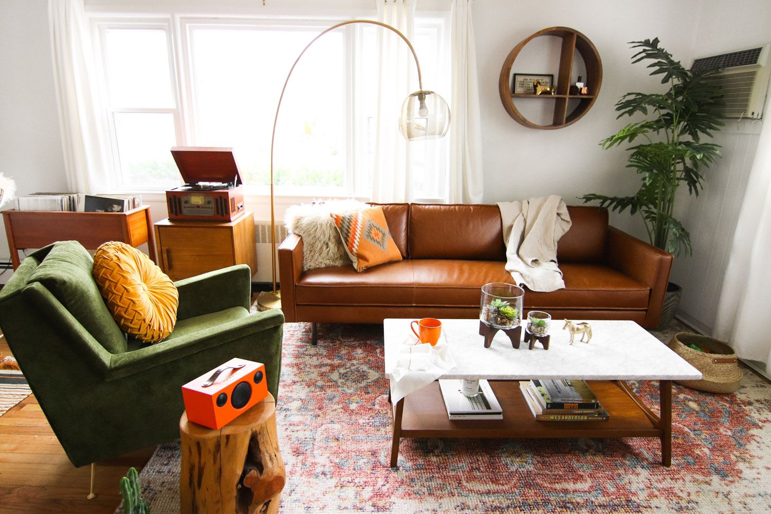 west elm living rooms side tables for room uk considered color in a makeover front main steffy s mid century