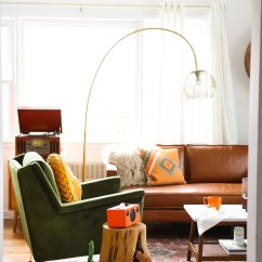 West Elm Living Rooms Best Paint Colors For Room And Kitchen Considered Color In A Makeover Front Main Steffy S Mid Century